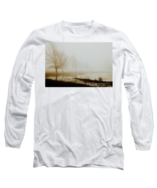 Long Sleeve T-Shirt featuring the photograph Open Space by Iris Greenwell