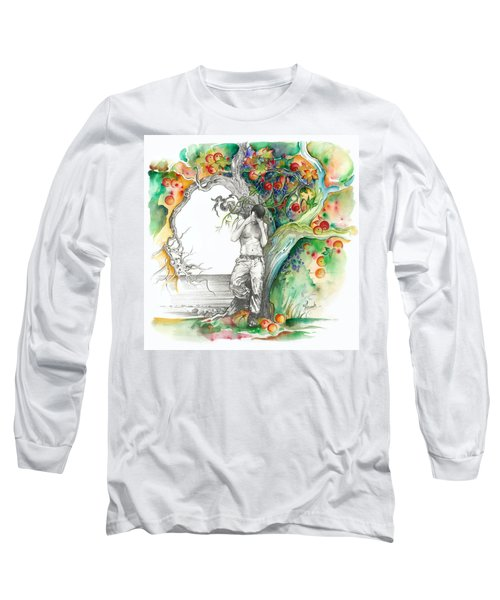 Open Your Eyes -the World Is Changing Long Sleeve T-Shirt
