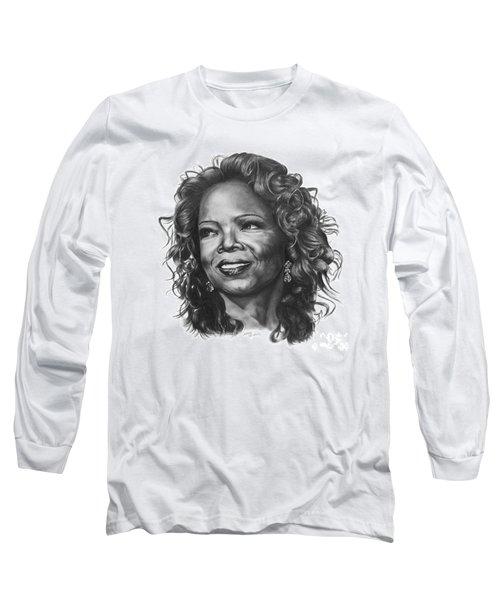 Oprah Long Sleeve T-Shirt by Marianne NANA Betts