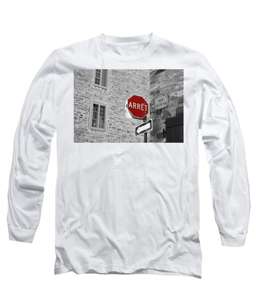 Optical Illusion, Quebec City Long Sleeve T-Shirt