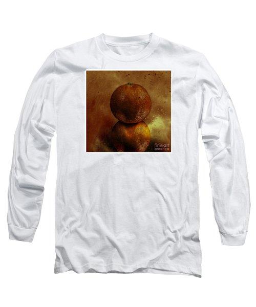 Orange Art Long Sleeve T-Shirt