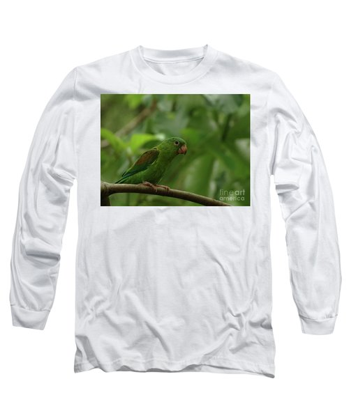 Orange-chinned Parakeet  Long Sleeve T-Shirt