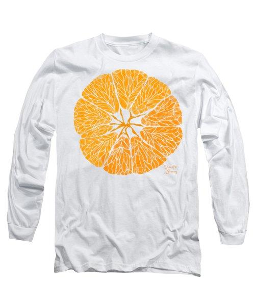 Orange You Glad Long Sleeve T-Shirt