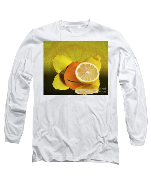 Oranges And Lemons Long Sleeve T-Shirt