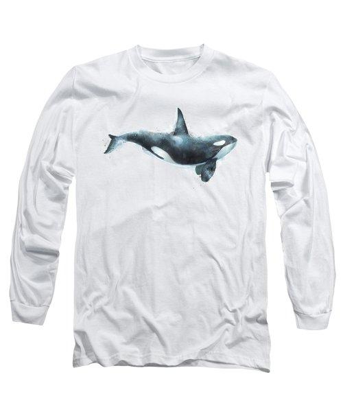 Orca Long Sleeve T-Shirt by Amy Hamilton