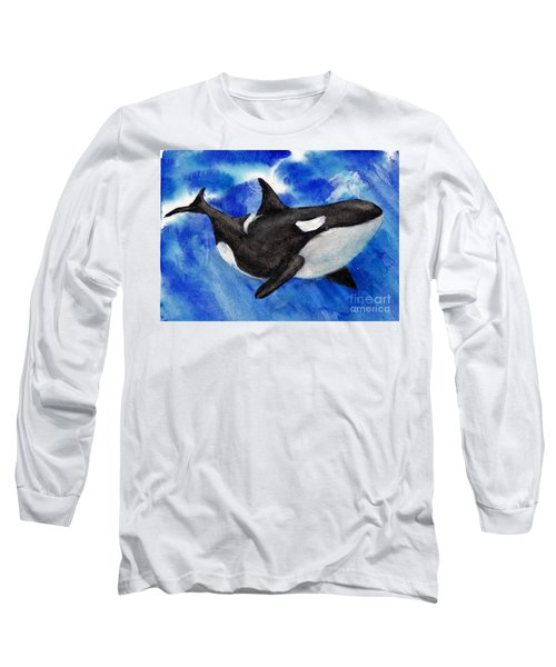 Orca Baby Long Sleeve T-Shirt