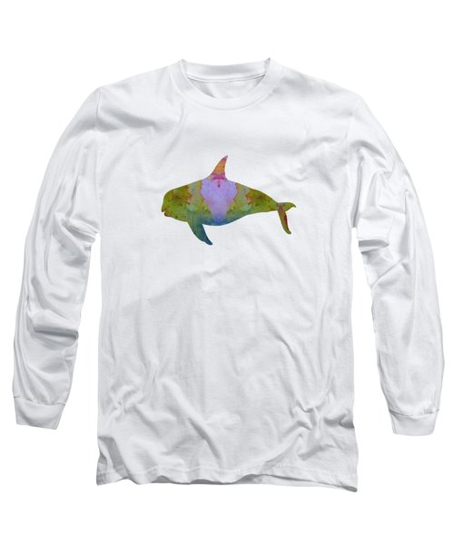 Orca Long Sleeve T-Shirt by Mordax Furittus
