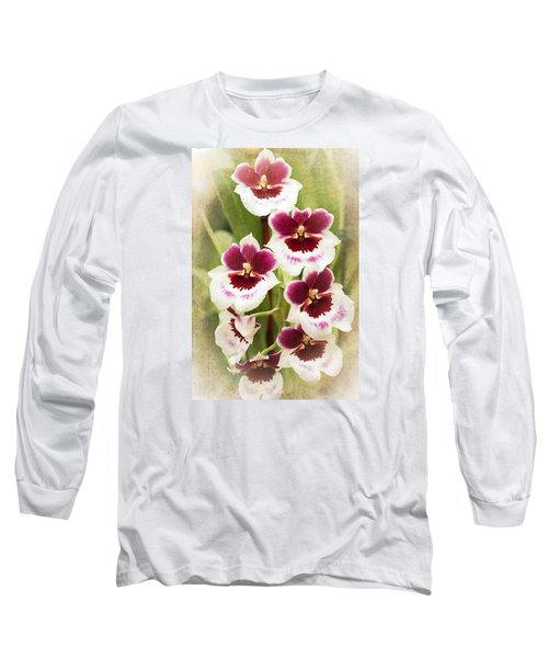 Orchid 2 Long Sleeve T-Shirt by Catherine Lau