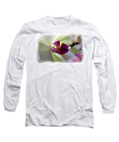 Orchid 2 Long Sleeve T-Shirt by David Bearden