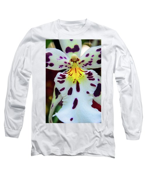Orchid Cross Long Sleeve T-Shirt