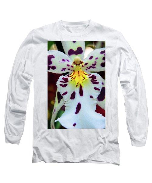 Orchid Cross Long Sleeve T-Shirt