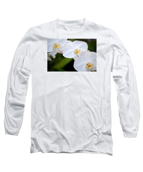 Orchid Flow Long Sleeve T-Shirt