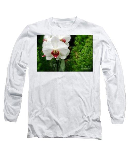 Orchid White Long Sleeve T-Shirt