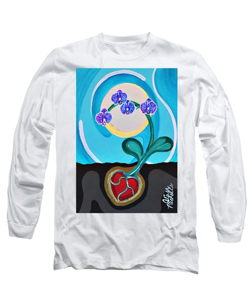 Orchids For My Love Long Sleeve T-Shirt