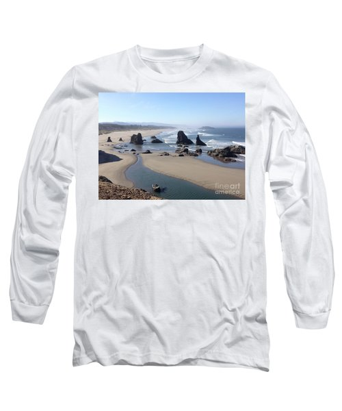 Oregon Coast Sea Stacks Long Sleeve T-Shirt