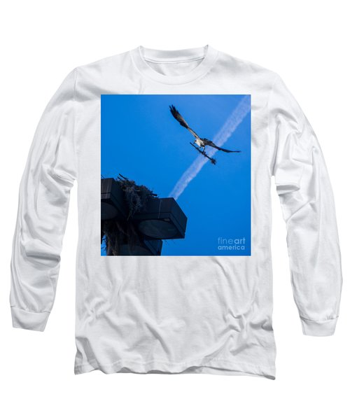 Osprey Carrying Stick To Nest Long Sleeve T-Shirt