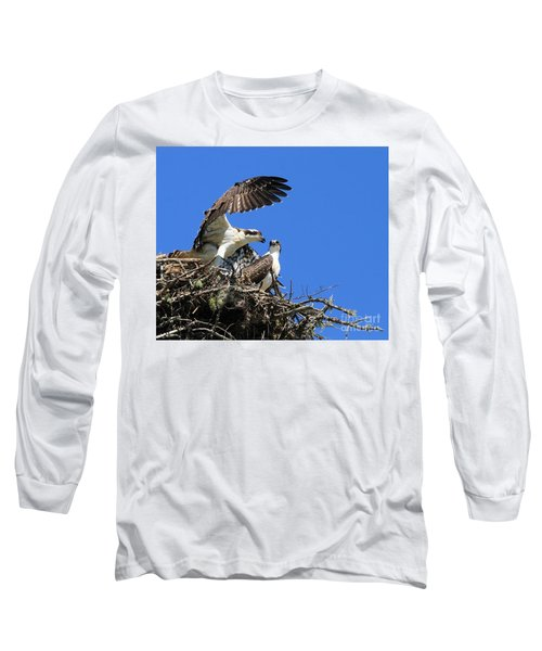 Osprey Chicks Ready To Fledge Long Sleeve T-Shirt