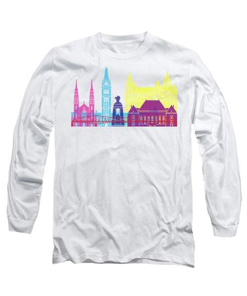 Ottawa V2 Skyline Pop Long Sleeve T-Shirt