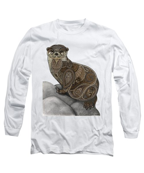 Otter Tangle Long Sleeve T-Shirt by ZH Field
