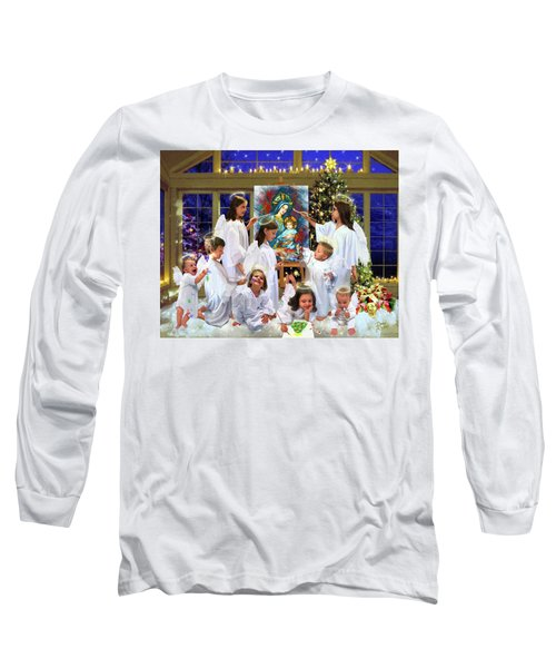 Our 2017 Christmas Angels Long Sleeve T-Shirt
