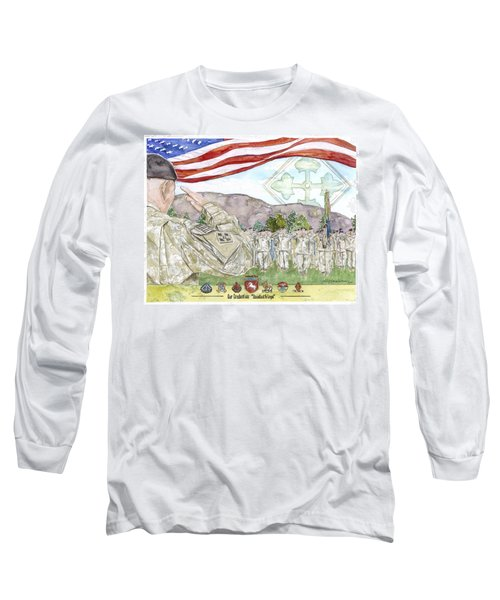 Our Credentials Steadfast And Loyal Long Sleeve T-Shirt
