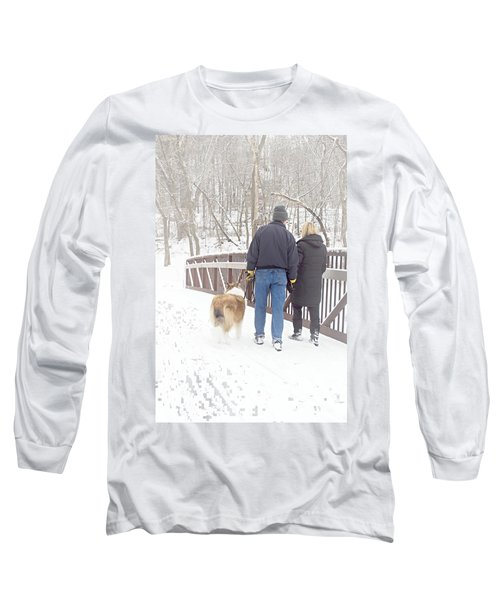 Our Love Will Keep Us Warm Long Sleeve T-Shirt