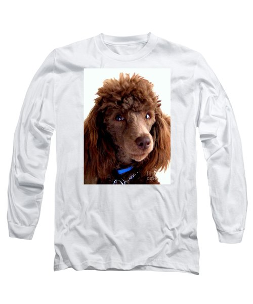 Our Muffin Portrait - 6-months Old Long Sleeve T-Shirt by Merton Allen