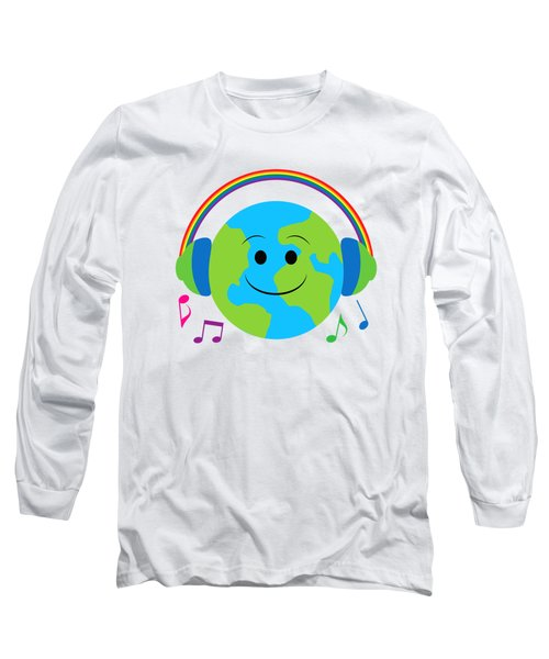 Our Musical World Long Sleeve T-Shirt by A