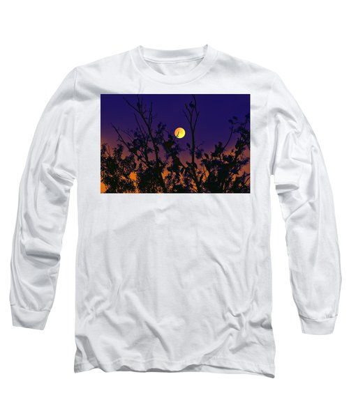 Long Sleeve T-Shirt featuring the digital art Our Tree House by Bliss Of Art