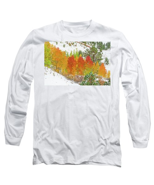Our Winter Begins Around Mid October.  Long Sleeve T-Shirt by Bijan Pirnia