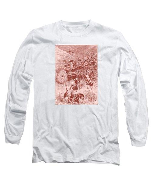 Out Foxing Long Sleeve T-Shirt by David Davies