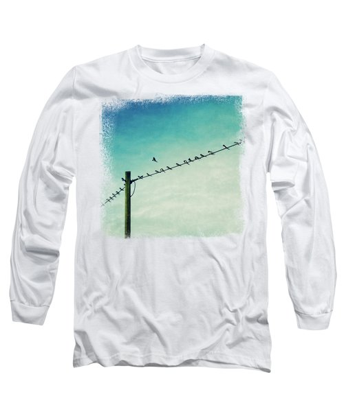 Out Of Line - Birds On A Wire Long Sleeve T-Shirt