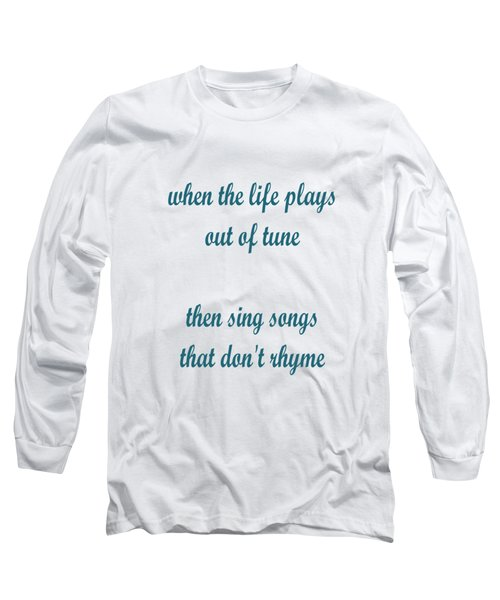 Out Of Tune Faded Long Sleeve T-Shirt