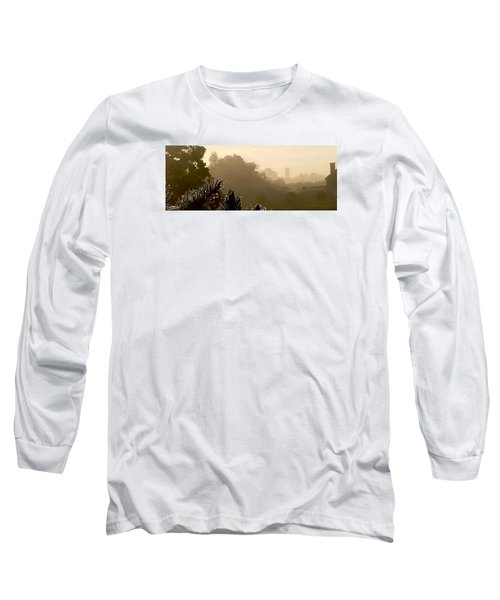 Long Sleeve T-Shirt featuring the photograph Out The Front Door by Steven Lebron Langston