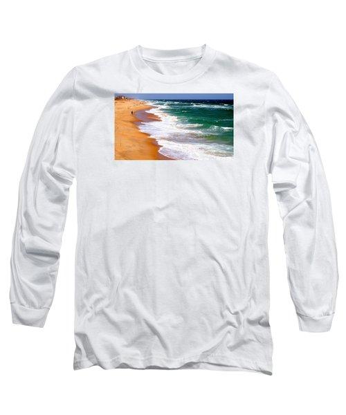 Outer Banks Beach North Carolina Long Sleeve T-Shirt