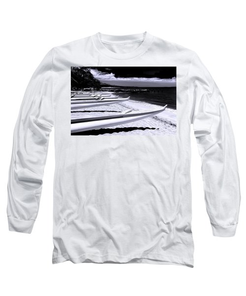 Outrigger Ocean Canoes Long Sleeve T-Shirt