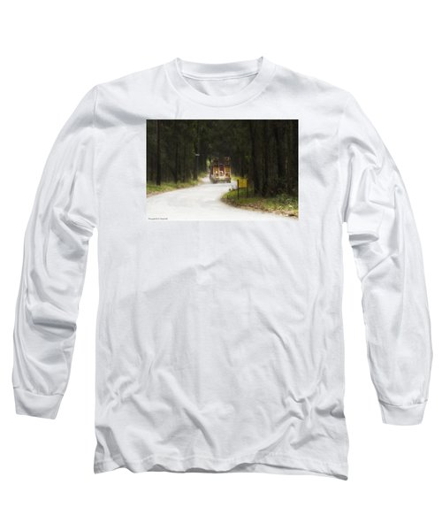 Long Sleeve T-Shirt featuring the photograph Over Size 01 by Kevin Chippindall