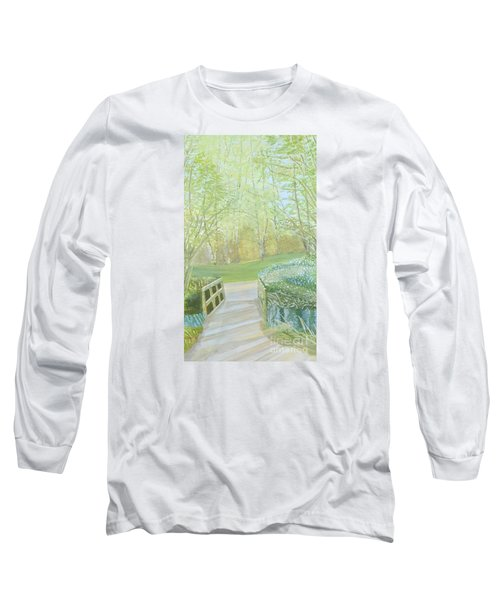Over The Bridge Long Sleeve T-Shirt by Joanne Perkins