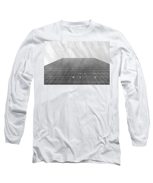 Long Sleeve T-Shirt featuring the photograph Over The City by Valentino Visentini