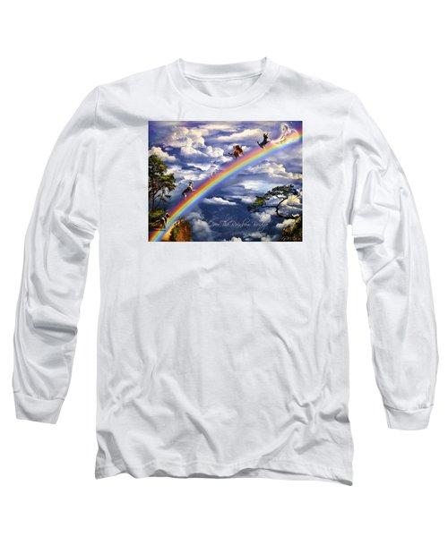 Over The Rainbow Bridge Long Sleeve T-Shirt