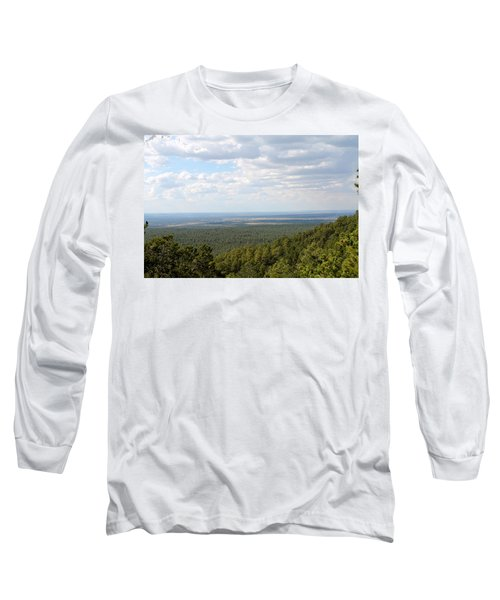Overlooking Pinetop Long Sleeve T-Shirt