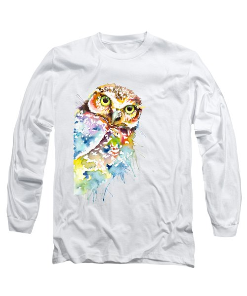 Owl Curious Long Sleeve T-Shirt