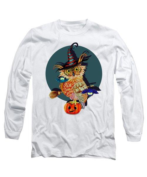 Owl Scary Long Sleeve T-Shirt
