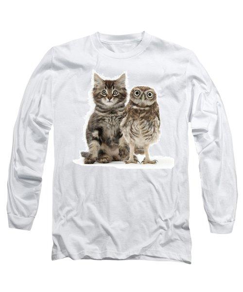 Owling And Yowling Long Sleeve T-Shirt