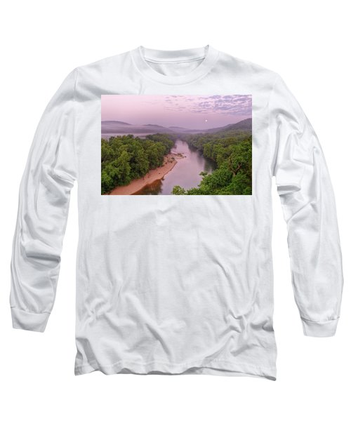 Owl's Bend Long Sleeve T-Shirt by Robert Charity