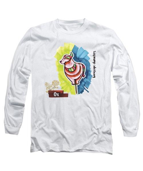 Ox Horoscope Long Sleeve T-Shirt