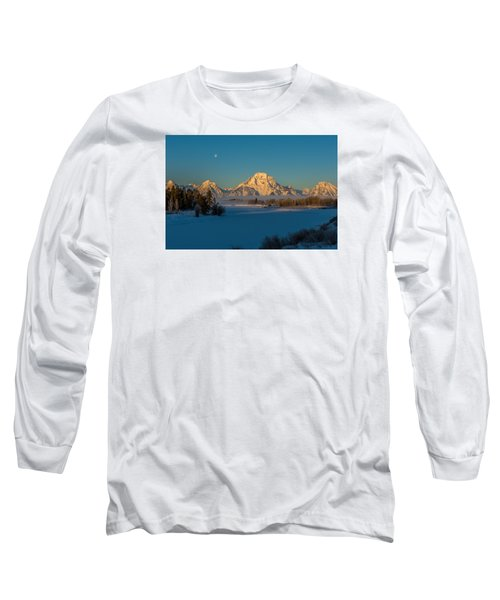 Oxbow Bend In Late Winter Long Sleeve T-Shirt