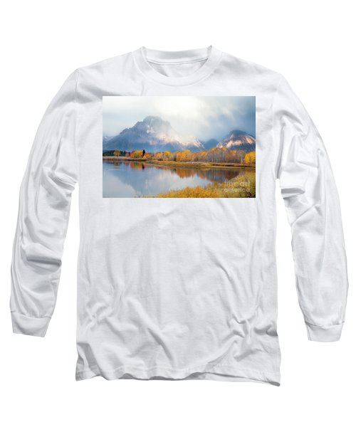 Oxbow Bend Turnout, Grand Teton National Park Long Sleeve T-Shirt
