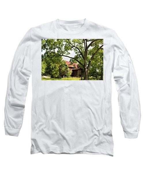 0037 - Oxford Red IIi Long Sleeve T-Shirt