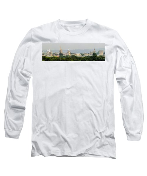 Oxford Spires Panoramic Long Sleeve T-Shirt by Ken Brannen